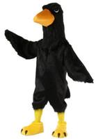 Halloween Schwarzer Adler Maskottchen Kostüm Hohe Qualität Cartoon Rabe Vogel Anime Thema Charakter Weihnachten Karneval Party Phantasie Kostüme