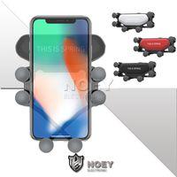 iPhone 11 Pro Otomatik Sıkma Tutma Araç Montaj cep telefon eklentileri noey için Teleskopik Telefon Araç Tutucu Hava Ven Yerçekimi Cep Telefonu Standı
