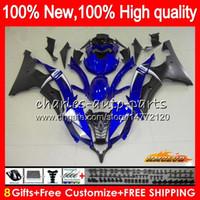 ヤマハYZF R 6 yzf 600 YZF-600 YZFR 6 06 07フレーム61HC.72 YZF R6 06-07 600CC Blue Factory YZF600 YZF-R6 2006 2007 OEM Fairingsキット