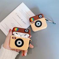 Ins de diseño para Apple Airpods favorable caso Ultraligero AirPod cubierta del protector de la caja timbaúva anticaída Airpods favorable caso