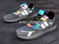 2019 New Adidas Nite Jogger Running Shoes Fashion women mens Originals 3M Popcorn Designer Shoes Sports Casual Chameleon Outdoors Athletic Sneakers