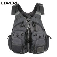 Apparel Fishing Vests Lixada Outdoor Fishing Vest Life Safet...
