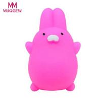 оптовые продажи Симпатичные Моти Squishy кролик снять стресс игрушка мягкие Squishies сжать Исцеление Fun Kids Kawaii Антистресс Игрушки # 1221