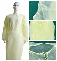 In Stock Non- woven Protection Gown Disposable Protective Iso...