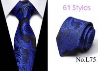 فحص 2019 كلاسيك للرجال منقوشة الحرير الفاخر الرجال روابط جديدة منقوشة زفاف رسمي الأعمال منقوشة البريطاني cravatte سيتا 7.5 سم ربطة عنق
