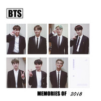 BTS Memories of 2018 Paper Photo Card V Suga Jimin HD Photoc...