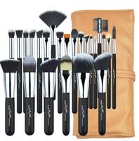 Professionelle Make-up Pinsel Set Kit Lip Foundation Blushher Eye Shadow Wimpern Concealer Pinsel Werkzeug 24pcs / set
