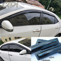 Car Styling Window Visor Sun Vent for toyota corolla 2014 20...