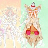 Sorriso PreCure! Glitter Força Glitter ensolarado Cure ensolarado Princess Dress