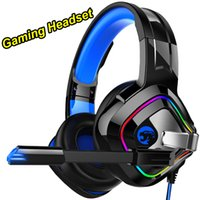 Super headset A66 for PS4 Gaming Headphones 4D Stereo RGB Ma...