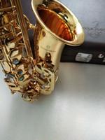 جديد وصول المهنية ياناجيساوا w01 ألتو ساكسفون e- شقة العزف على آلة موسيقية ساكس جودة عالية ألتو ساكسفون الحرة