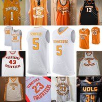 Personalizado Tennessee Voluntários Basquetebol Jersey NCAA Collignurner Pons Bowden Fulkerson Gaines Johnson Nkamhoua Williams Schofiel Richardson