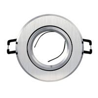 Монтажный кронштейн из литого алюминия Алюминиевый кронштейн MR16 GU10 GU5.3 Потолочный прожектор Монтажный кронштейн Встраиваемый вниз светильник