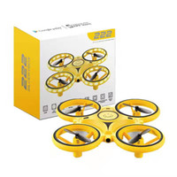 Beste Kinder Geschenk Mini UAV DRONE Induktion Flying Flugzeuge Spielzeug Quadcopter LED Licht RC Intelligente Uhr Fernbedienung Geste Kontrolle
