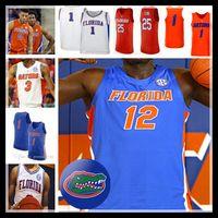 2021 Florida Gators كرة السلة Kerry Blackshear Jr. Keyontae Johnson Bradley Beal Andrew Nembhard Scottie Lewis Locke College Jersey 4xl