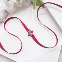 Engagement Luxuru Jewelry Necklace Woman Cute Bee ribbon Nec...