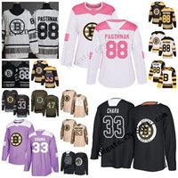 2019 Stanley Cup Finals costume 6XL Boston Bruins Zdeno Chara 37 Patrice Bergeron 63 Brad Marchand 88 David Pastrnak Bobby Orr Hóquei Jersey