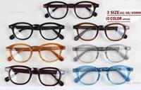 gafas de calidad superior montura de lentes transparentes johnny depp gafas miopía lentes lemtosh hombres mujeres miopía Arrow Rivet 1915 S M L tamaño con estuche
