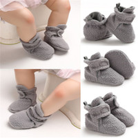 Soft Sole Faux Baby Shoes Boy Girl Infant Toddler Moccasin C...