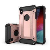 Rüstung Handy Cover TPU PC 2 in 1 Case Heavy Duty Schutzhülle Shockproof Defender Case für iPhone