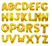 50PCS 40 Inch Letters A- B Helium Foil Balloons Wedding Decor...