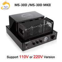 Nobsound MS-30D ve MS-30D MKII 2.1 kanal hifi bluetooth tüp Amplifikatör 25 W + 25 W 110 V / 220 V Destek Usb Güç amplifikatörü MS-10D MKII yükseltme