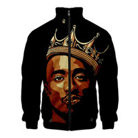 Mens Designer Rap Singer Hoodies Hot Style Casual 3D Color P...