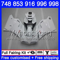 Kit for Ducati 748 853 916 996 998 S R Pearl White New 94 95 96 97 98 327hm.6 748s 853S 916R 996R 998S 748R 1994 1998 1997 1997 1997 1997