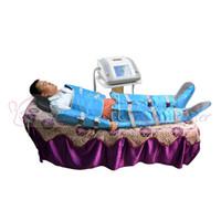 HEISS ! 2 In1 Ferninfrarot-Pressotherapie-Sauna-Decke Luftdruck-Pressotherapie-Lymphdrainage-Körper, der Maschine abnimmt