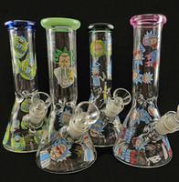 Цвета стеклянные стакан бонг водопроводные трубы раста дизайн нефтяной установки ручной работы бренд бонс стеклянная труба 18,8 мм сустава