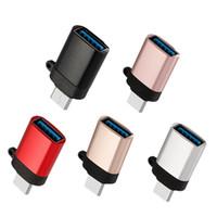 OTG Adapter Typ-C-USB-C-Stecker auf USB-3.0-Buchse OTG Adapter Lade Daten-Synchronisierungs-Typ-C-Converter