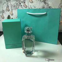 Perfume para mujeres 75ml EDP 2.5FLOZ Diamond Bottle Design Flower and Light Frangance Natural Spary Vaporisateur Nuevo en caja