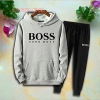 2019 B0SS Children Sports Sets Kids Sets 1- 7T Kids Hoodies P...