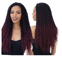 Hot selling fashion ombre color Crochet braid hair extension...