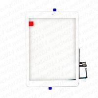 Nouveau panneau de verre de l'écran tactile avec Digitizer Accueil Boutons pour iPad 6 6 2018 A1893 A1954 gratuitement DHL
