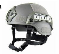 Qualidade Leve RÁPIDO Capacete MICH2000 Airsoft MH Tactical Capacete Ao Ar Livre Tático CS SWAT Equitação Proteger Equipamento Frete Grátis