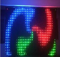 P9 2X4M RGB SMD LED Video Cortina Effetto di illuminazione scenografia Perfetta per DJ Fondali Controllo PC LLFA