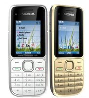 Original NOKIA C2- 01 Mobile Phones 2. 0 inch 3. 2MP Single Cam...