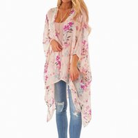 c2cf89d60ae Wholesale summer smock tops for sale - Summer Floral Print Blouse Womens  Tops And Blouses Middle