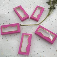 Leerer rosae Krone box neuer Stil dramatische Wimpern mit 3D-5D box Wimpern 100% handgemachte weiche Pappe