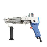 Tapete elétrico Tufting Gun Gun Gun Tapete Tapete Máquinas de flocagem Corte Pilha TD-01 Rh