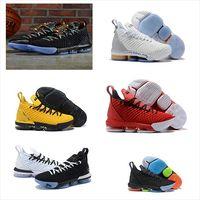 2019 Nuevo 16 KC Mira el trono Igualdad Home King Casual Sport Zapatillas para hombre 16S XVI BHM zapatillas negras Tamaño de las zapatillas US 7-13