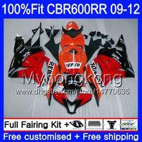 Einspritzung für HONDA CBR 600RR 600F5 CBR600RR 09 10 11 12 282HM.8 CBR 600 RR F5 CBR600 RR 2009 2010 2011 Neues Repsol-Orange-Verkleidungskit