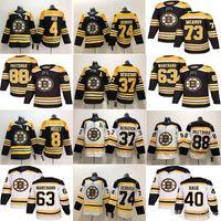 Boston Bruins Eishockey Trikots 33 Zdeno Chara 8 Cam Neely 88 David Pastrňák 63 Brad Marchand Charlie Mcavoy 74 Jake DeBrusk 46 Krejci
