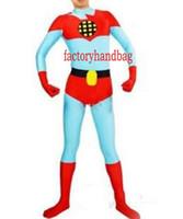 Captain Planet und die Planeten Captain Planet Kostüm Halloween Cosplay Party Zentai Anzug