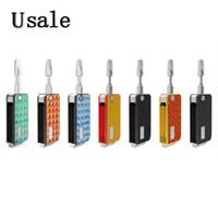 VapMod Rock 710 Kit Clé Batterie Batterie 650mAh Préchauffer Tension Variable Mod E cigarette Dispositif Pour 510 Cartouches 100% D'origine