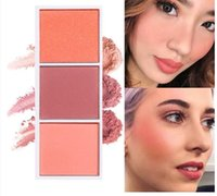 SACE Lady Matte Blush Powder Suave Super Pigmentado Largo Duradera Brighten Maquillaje