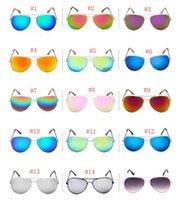 Moda Gafas de sol Reflectante Rana Espejo Outdoor Eyewear Retro Vintage Hombres Mujeres Rana al aire libre Gafas de sol Gafas de sol Clásicas