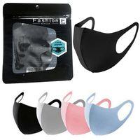 desenhador cara de seda máscara Ice Máscara protectora da Anti Poeira Capa PM2.5 Respirador Dustproof lavável reutilizáveis máscaras de algodão preto Adulto miúdo máscaras