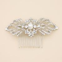 In Stock New 2014 Crystal Bridal Headband Beads Pearls